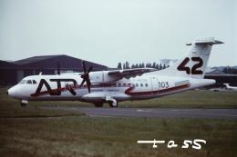 tassさんが、ル・ブールジェ空港で撮影したアエロスパシアル ATR 42-200の航空フォト(飛行機 写真・画像)
