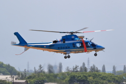 TAKAHIDEさんが、新潟空港で撮影した新潟県警察 A109E Powerの航空フォト(飛行機 写真・画像)