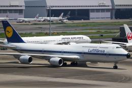 ゆずしょうゆさんが、羽田空港で撮影したルフトハンザドイツ航空 747-830の航空フォト(飛行機 写真・画像)