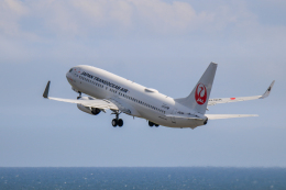 だいふくさんが、中部国際空港で撮影した日本トランスオーシャン航空 737-8Q3の航空フォト(飛行機 写真・画像)
