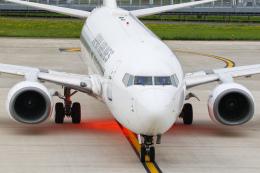 ゆずしょうゆさんが、三沢飛行場で撮影した日本航空 737-846の航空フォト(飛行機 写真・画像)