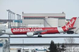 PIRORINGさんが、新千歳空港で撮影したタイ・エアアジア・エックス A330-941の航空フォト(飛行機 写真・画像)
