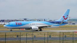 singapore346さんが、フランクフルト国際空港で撮影したトゥイフライ 737-82Rの航空フォト(飛行機 写真・画像)