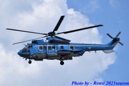 れんしさんが、奈多ヘリポートで撮影したエアバス・ヘリコプターズ・ジャパン EC225LP Super Puma Mk2+の航空フォト(飛行機 写真・画像)