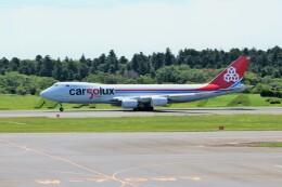 OMAさんが、成田国際空港で撮影したカーゴルクス 747-8R7F/SCDの航空フォト(飛行機 写真・画像)