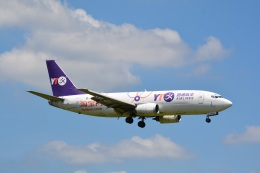 LEGACY-747さんが、成田国際空港で撮影したYTOカーゴ・エアラインズ 737-36Q(SF)の航空フォト(飛行機 写真・画像)