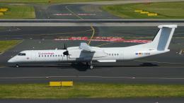 singapore346さんが、デュッセルドルフ国際空港で撮影したユーロウイングス DHC-8-402Q Dash 8の航空フォト(飛行機 写真・画像)