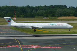 singapore346さんが、デュッセルドルフ国際空港で撮影したブルガリアン・エア・チャーター MD-82 (DC-9-82)の航空フォト(飛行機 写真・画像)