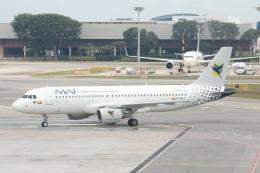S.Hayashiさんが、シンガポール・チャンギ国際空港で撮影したミャンマー国際航空 A320-214の航空フォト(飛行機 写真・画像)