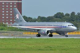 サンドバンクさんが、成田国際空港で撮影したチェコ空軍 A319-115CJの航空フォト(飛行機 写真・画像)