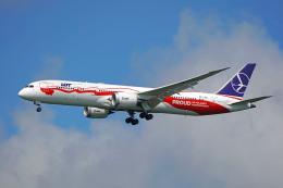 ちゃぽんさんが、成田国際空港で撮影したLOTポーランド航空 787-9の航空フォト(飛行機 写真・画像)