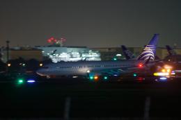 多摩川崎2Kさんが、羽田空港で撮影したコパ航空 737-8V3の航空フォト(飛行機 写真・画像)