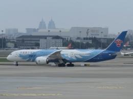 LOVE767さんが、上海虹橋国際空港で撮影した中国南方航空 787-9の航空フォト(飛行機 写真・画像)