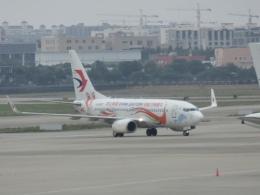 LOVE767さんが、上海虹橋国際空港で撮影した中国東方航空 737-79Pの航空フォト(飛行機 写真・画像)