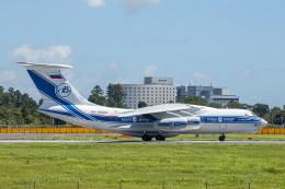 SGR RT 改さんが、成田国際空港で撮影したヴォルガ・ドニエプル航空 Il-76TDの航空フォト(飛行機 写真・画像)