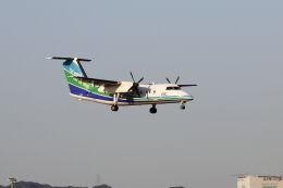 mocohide☆さんが、福岡空港で撮影したオリエンタルエアブリッジ DHC-8-201Q Dash 8の航空フォト(飛行機 写真・画像)