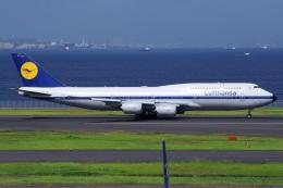 Tatsuya.Kさんが、羽田空港で撮影したルフトハンザドイツ航空 747-830の航空フォト(飛行機 写真・画像)