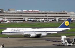 taka1129さんが、羽田空港で撮影したルフトハンザドイツ航空 747-830の航空フォト(飛行機 写真・画像)
