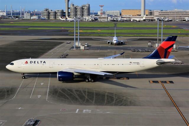 航空フォト:N404DX デルタ航空 A330-900