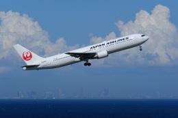 そば小猿さんが、羽田空港で撮影した日本航空 767-346/ERの航空フォト(飛行機 写真・画像)