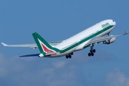 そば小猿さんが、羽田空港で撮影したアリタリア航空 A330-202の航空フォト(飛行機 写真・画像)