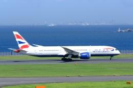 そば小猿さんが、羽田空港で撮影したブリティッシュ・エアウェイズ 787-9の航空フォト(飛行機 写真・画像)
