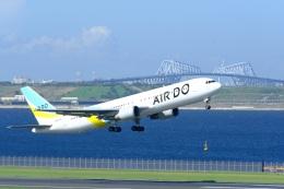 そば小猿さんが、羽田空港で撮影したAIR DO 767-381/ERの航空フォト(飛行機 写真・画像)