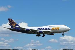 mogusaenさんが、横田基地で撮影したアトラス航空 747-422の航空フォト(飛行機 写真・画像)