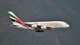 flytaka78さんが、香港国際空港で撮影したエミレーツ航空 A380-861の航空フォト(飛行機 写真・画像)