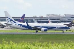 HEATHROWさんが、成田国際空港で撮影したアトラン・アヴィアトランス・カーゴ・エアラインズ 737-8AS(BCF)の航空フォト(飛行機 写真・画像)