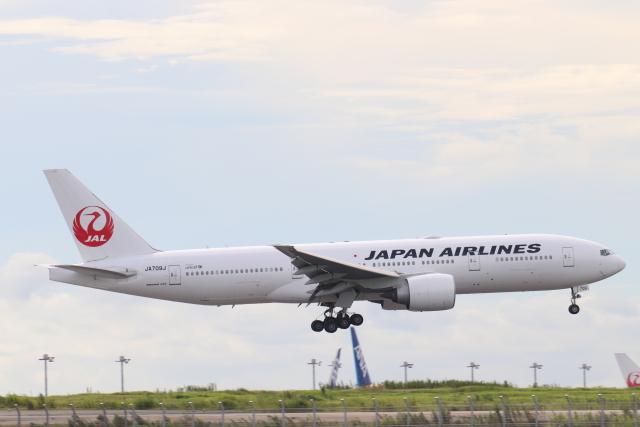 航空フォト:JA709J 日本航空 777-200