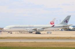 S.Hayashiさんが、関西国際空港で撮影したカタールアミリフライト A340-211の航空フォト(飛行機 写真・画像)