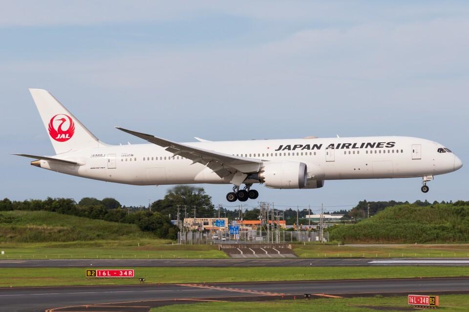 walker2000さんの日本航空 Boeing 787-9 (JA866J) 航空フォト