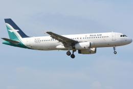 jun☆さんが、クアラルンプール国際空港で撮影したシルクエア A320-233の航空フォト(飛行機 写真・画像)