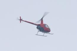 レガシィさんが、宇都宮市上空で撮影したアルファーアビエィション R22 Beta IIの航空フォト(飛行機 写真・画像)