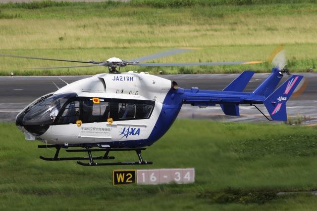 きりしまさんが、名古屋飛行場で撮影した宇宙航空研究開発機構 BK117C-2の航空フォト(飛行機 写真・画像)
