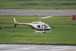 もぐ3さんが、新潟空港で撮影したヘリサービス 206B-3 JetRanger IIIの航空フォト(飛行機 写真・画像)