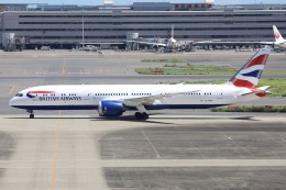 sky-spotterさんが、羽田空港で撮影したブリティッシュ・エアウェイズ 787-9の航空フォト(飛行機 写真・画像)