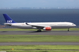 sky-spotterさんが、羽田空港で撮影したスカンジナビア航空 A330-343Xの航空フォト(飛行機 写真・画像)