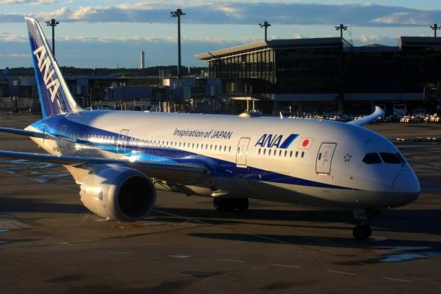 航空フォト:JA878A 全日空 787-8 Dreamliner