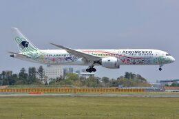 サンドバンクさんが、成田国際空港で撮影したアエロメヒコ航空 787-9の航空フォト(飛行機 写真・画像)