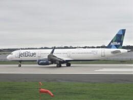 HACIさんが、ジョン・F・ケネディ国際空港で撮影したジェットブルー A321-231の航空フォト(飛行機 写真・画像)