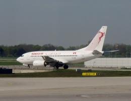 TA27さんが、ミュンヘン・フランツヨーゼフシュトラウス空港で撮影したチュニスエア 737-6H3の航空フォト(飛行機 写真・画像)