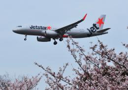チャーリーマイクさんが、福岡空港で撮影したジェットスター・アジア A320-232の航空フォト(飛行機 写真・画像)