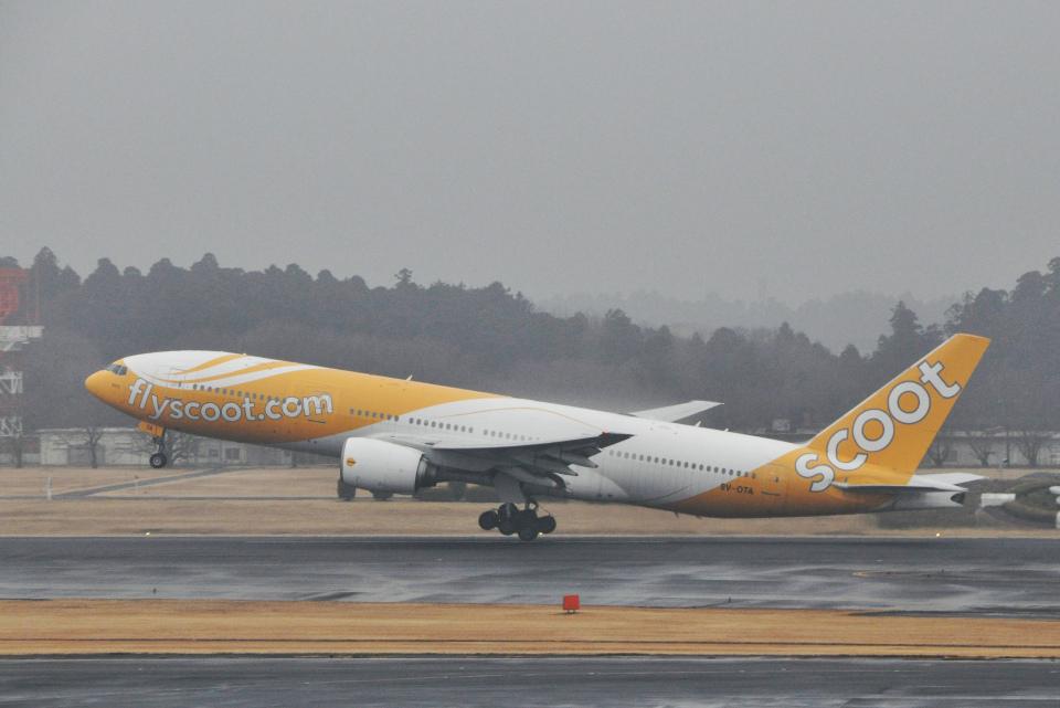 チャーリーマイクさんのスクート (〜2017) Boeing 777-200 (9V-OTA) 航空フォト