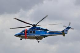 TAKAHIDEさんが、新潟空港で撮影した新潟県警察 AW139の航空フォト(飛行機 写真・画像)