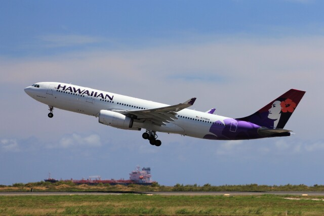 2019年09月06日に撮影されたハワイアン航空の航空機写真
