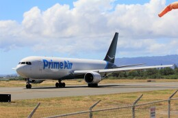 フッ軽の極美さんが、ダニエル・K・イノウエ国際空港で撮影したアマゾン・エア 767-306/ER(BCF)の航空フォト(飛行機 写真・画像)