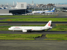 くーぺいさんが、羽田空港で撮影したキャセイドラゴン A321-231の航空フォト(飛行機 写真・画像)