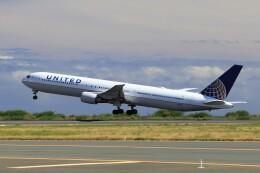 フッ軽の極美さんが、ダニエル・K・イノウエ国際空港で撮影したユナイテッド航空 767-424/ERの航空フォト(飛行機 写真・画像)